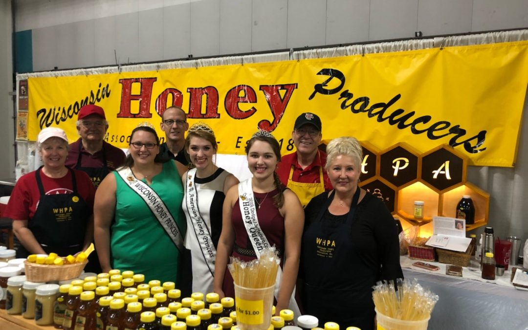 Volunteers Needed at WI State Fair Honey Booth August 1-11, 2019