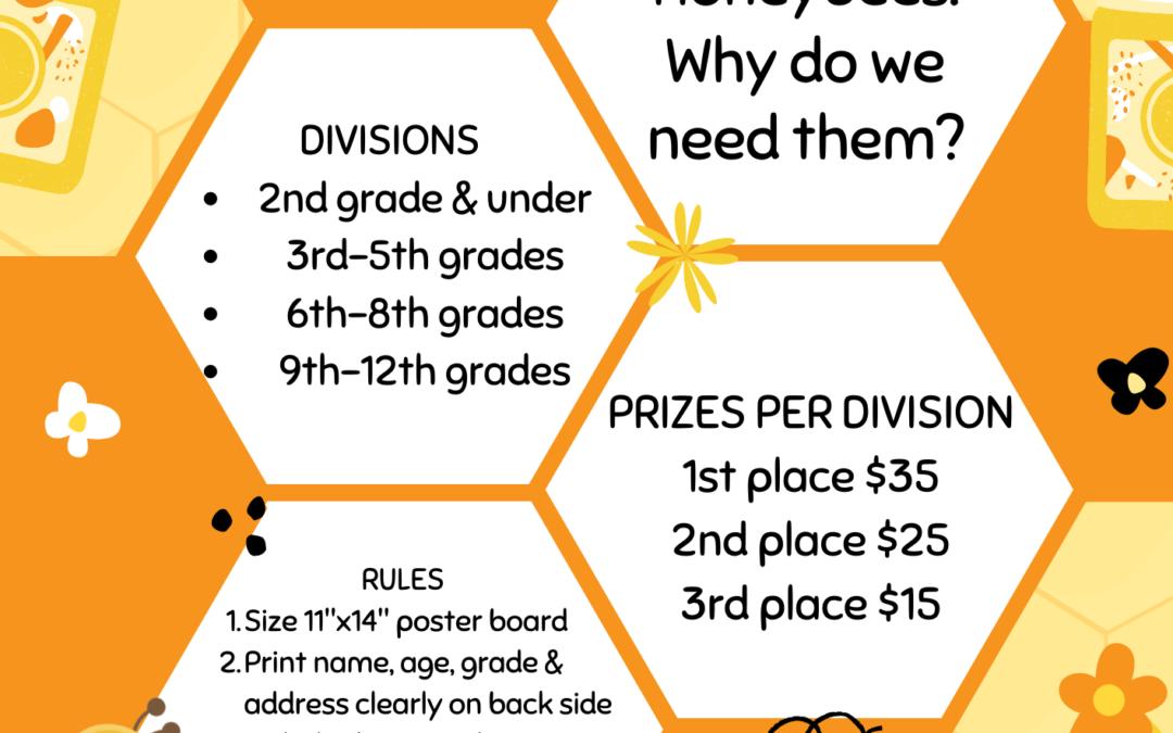 2021 Honey Bee Poster Contest